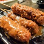 磯笛 - 味噌串カツ