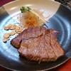 但馬亭 - 料理写真:日替わりの和牛ももステーキ150g