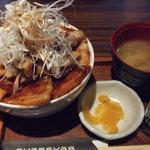 豚公司 堀江 - 贅沢ぶた丼
