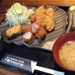 豚公司 堀江 - 豚公司定食