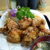 Akebono - 料理写真:デフォで大盛のとり唐揚げ