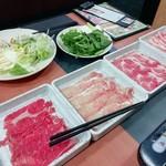 しゃぶすき宴 - 料理写真: