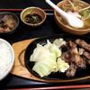 岳 - 料理写真:ツラミ定食♪(1060円)