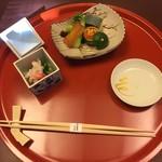 美濃吉本店 竹茂楼 - ずわいかに 水菜