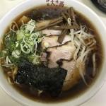 味の大西 - チャーシューワンタン麺