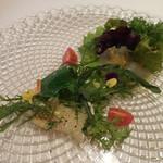 85435976 - 天然真鯛と弓削瓢柑のテリーヌ