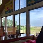 浜乃納屋 - お店からは大貫海岸がよく見えます。