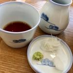 ソバ カフェ 渓水 - 丁寧な 薬味