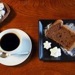 旧浜口家住宅 喫茶・ご休憩スペース - 料理写真:シフォンセット