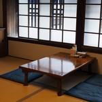 旧浜口家住宅 喫茶・ご休憩スペース -