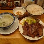 味の牛たん喜助 東京駅八重洲北口店 - 牛たん焼定食