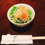 85440977 - ディナー                       松花堂定食のサラダ