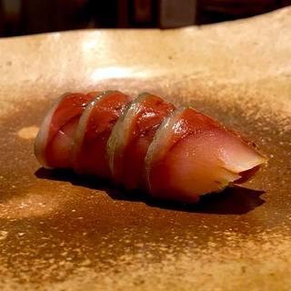 京極寿司 - 料理写真:〆鯖握り