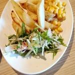 カタマリ肉ステーキ&サラダバー にくスタ - サラダビュッフェ