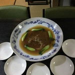 中国精進料理 凛林 - 大皿も林さんの焼いたものかは聞くのを忘れた
