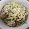 ラーメン二郎 - 料理写真:ラーメン 750円 麺半分・ニンニクちょっとで