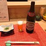 ほら鮨 - 瓶ビール