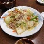 八千代食堂 - 野菜炒め 520円