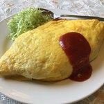 味喜食堂 - 料理写真:昔懐かしいオムライス