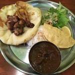 印度料理シタール - タンドーリランチセット(マトン)