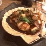 ビーストキッチン - ホタテの土手焼き