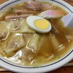 富士屋 - わんたん麺