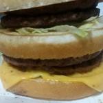 マクドナルド - 料理写真:倍ビッグマッグ