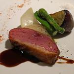 リストランテ ラストリカート - ブルターニュ産鴨胸肉のロースト