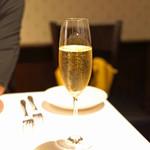 リストランテ ラストリカート - スパークリング ワイン