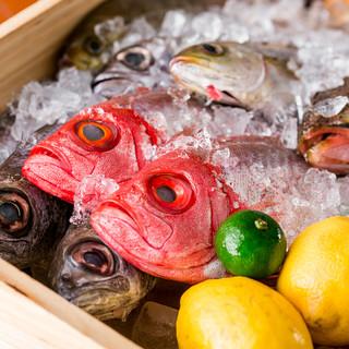 全国各地より直送!塩焼き・煮つけ…朝獲れ鮮魚をお好きな味で◎