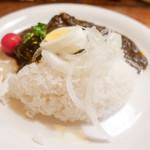 カレー食堂 リトルスパイス - ブラックカレー