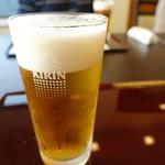 丸十 - ドリンク写真:最初はビール