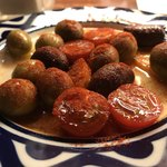 85455013 - オリーブとプチトマトのマリネ