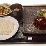 YAKIYAKIさんの家 AKASAKA - ハンバーグランチ