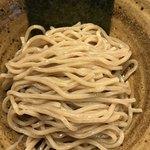85457736 - 珍しい 胚芽麺                       小麦の胚芽部分を擦り込む。