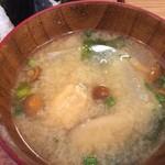 美松 - なめこの味噌汁