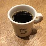 ファイブ クロスティーズ コーヒー - 10分もしないうちにお替り ピンクブルボン