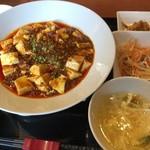 百菜百味 - ランチ 麻婆豆腐
