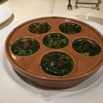 85459969 - 別で注文したムール貝のオーブン焼き