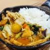 野菜を食べるカレー キャンプエクスプレス - 料理写真: