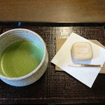 春日荷茶屋 - 料理写真:抹茶セット