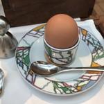 イグレック - 丹波地鶏の半熟卵・豊岡市の「誕生の塩」と