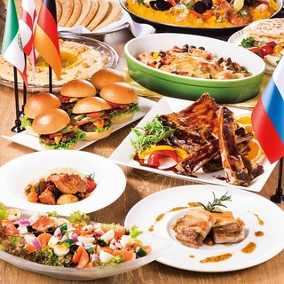<ランチ&ディナーブッフェ>食べ放題のフェアは季節ごとに変更