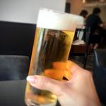 トラットリア ゴデレッチョ エビス - 生ビール