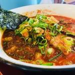 小豆島ラーメンHISHIO - 辛くてマイルド真っ赤なスープ!