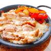 窯焼き グリルチキンとチーズのパエリア