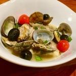 道後Cafe&Bar ゆのか - 鯛とアサリのアクアパッツァ