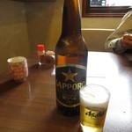 ファミリーれすとらん ひろせ 寿し正 - 瓶ビール(大瓶) 600円 (2018.4)