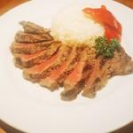 レストランテグリル イグアス - 牧草牛 ランプステーキ!