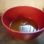 ティン・フック - スープは二分目(^_^;)